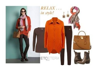Amber Sweater ($295.00), Equestrian Legging ($450.00), Gossamer Scarf, Clove Tee.  See more at www.lowcountrystyles.com.  Holiday Show Sept. 25th-October 6th.