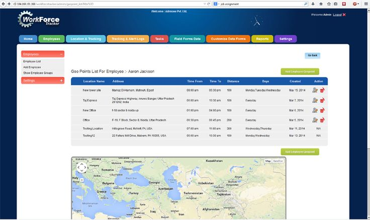 A GPS Time Tracker for Your Mobile Workforce