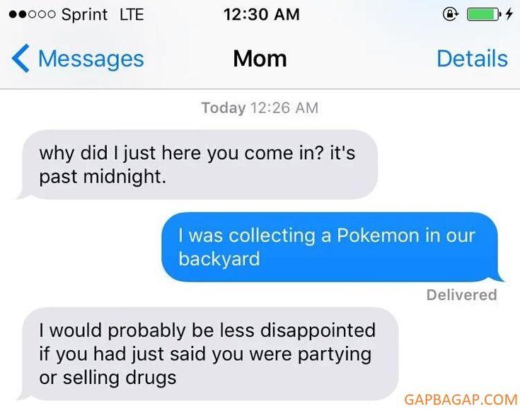 Gap Ba Gap:             #Funny Text About Pokemon vs. Drugs