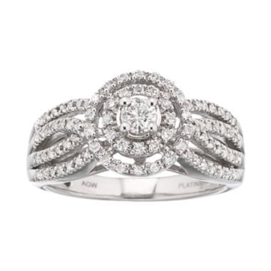 Fancy T W Diamond Engagement Ring found at