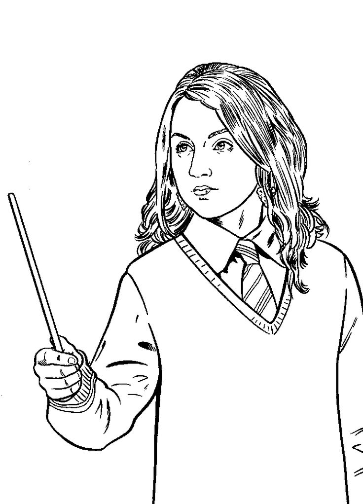 Printable Harry Potter Coloring Pages Coloring kids