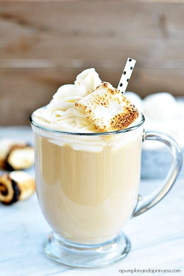 Caramel Marshmallow Latte - A Pumpkin And A Princess