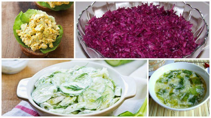 A+hőségben+nincs+is+finomabb+egy+hűsítő+salátánál!+Fogyaszthatod+önmagában,+kenyérrel,+vagy+húsok+mellé+is+ezeket+a+finomságokat!+Megmutatjuk+a+8+legízletesebb+és+legolcsóbb+salátát!+Pillanatok+alatt+elkészülnek+és+roppant+finomak!    Tejfölös+fejes+saláta  Hozzávalók+:+1+nagy+fejes+saláta,+2+dl…