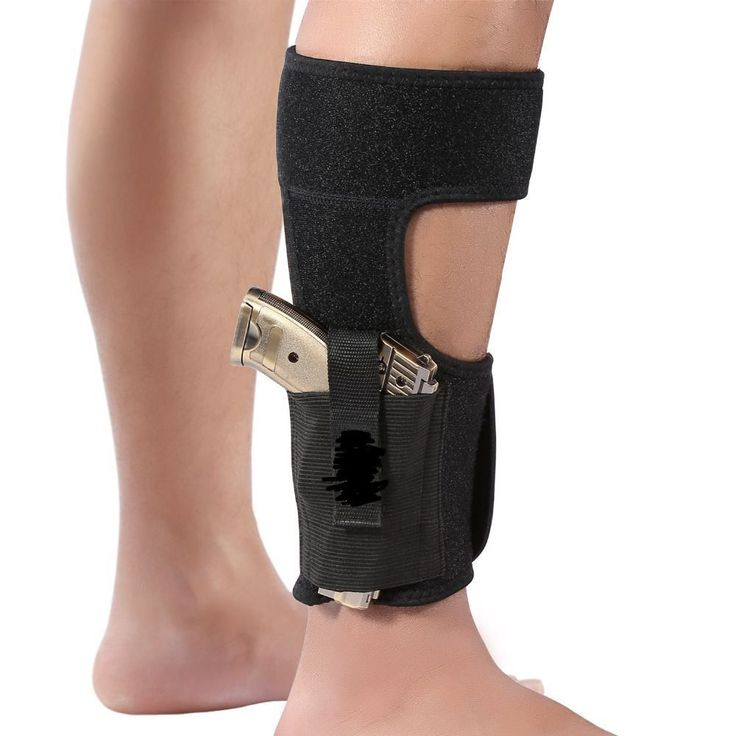 Universal Adjustable Concealed Carry Ankle Leg Pistol Gun Holster For Skirmish Airsofts Pouch Universal Gun Small Auto Rh Case.