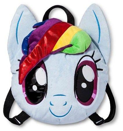 My Little Pony Girls' Mini Backpack - Blue