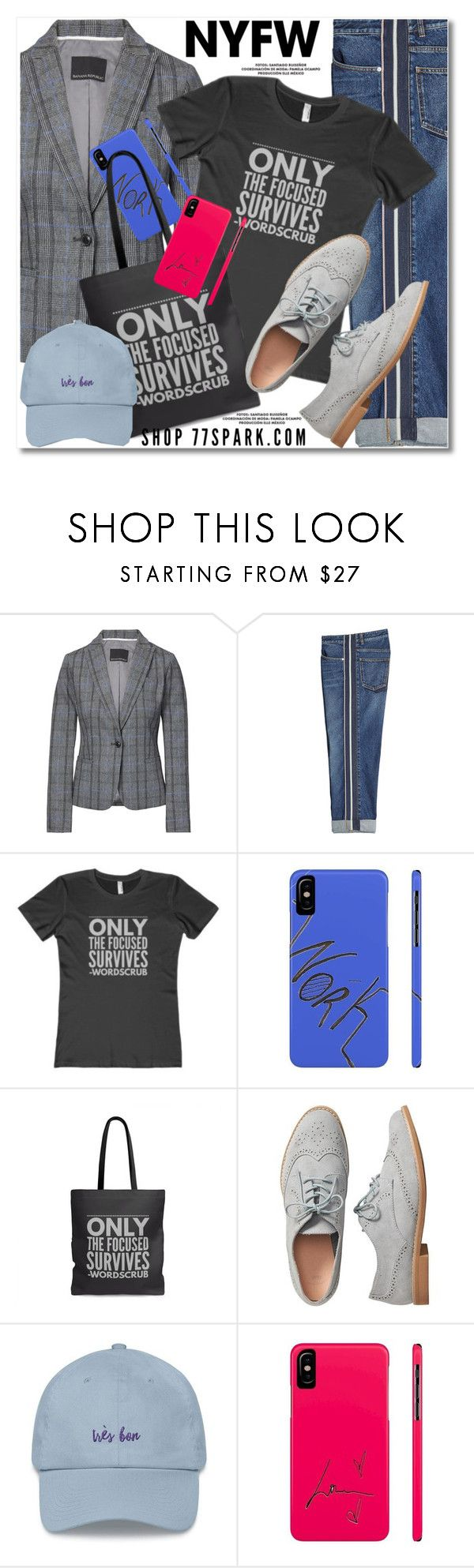"""""""NYFW Trend Spotting: Plaid - 5"""" by duma-duma ❤ liked on Polyvore featuring Banana Republic, Alexander McQueen, Gap, contestentry and NYFWPlaid"""