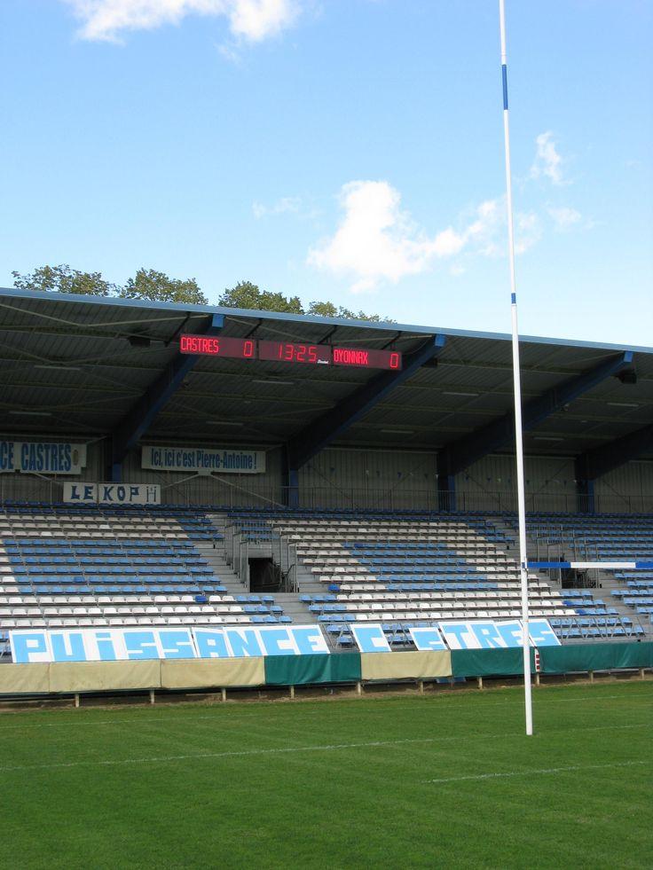 Le club de Rugby Castres Olympique est désormais équipé d'un tableau d'affichage Bodet #Castres #Rugby