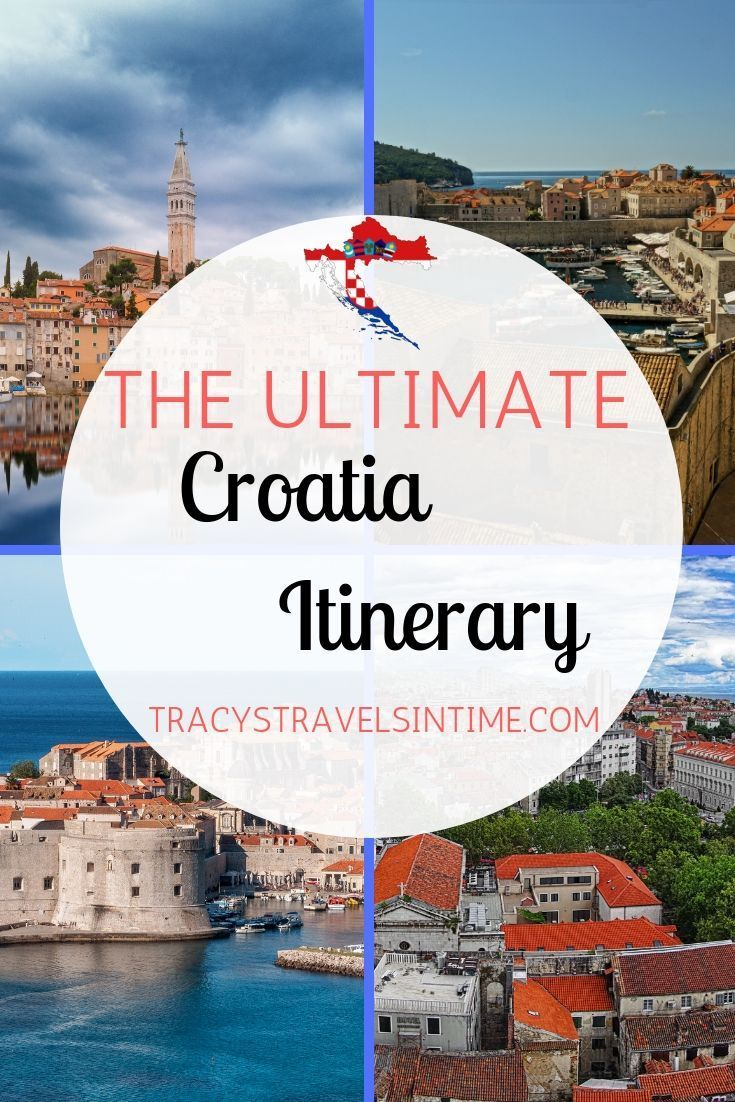 Croatia Itinerary From Dubrovnik To Zagreb Tracy S Travels In Time Croatia Itinerary Croatia Beach Croatia