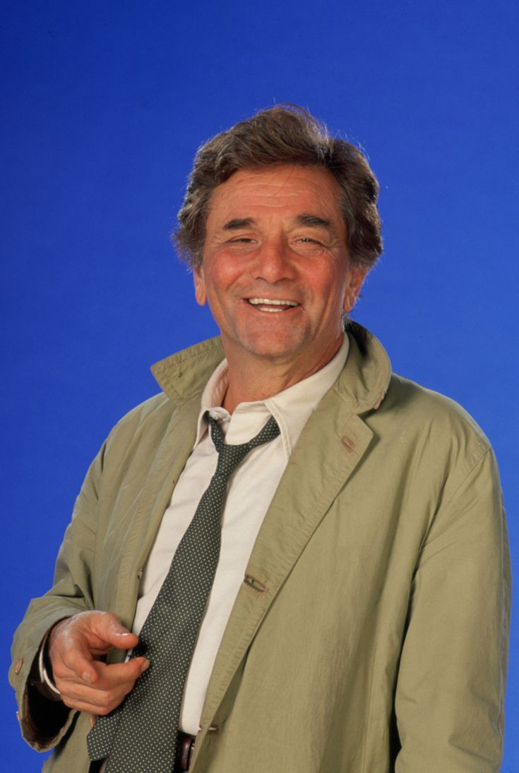 "Peter Falk.  Actor . Best known for his role as COLUMBO.  ""AH, JUST ONE MORE THING."" Made many movies, drama and comedy."
