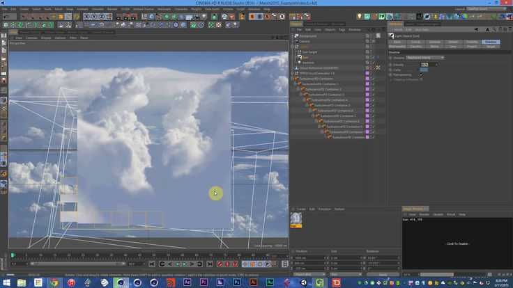 Think Particle Tutorial 34 - Creating Realistic Clouds in Cinema 4D Using TFD