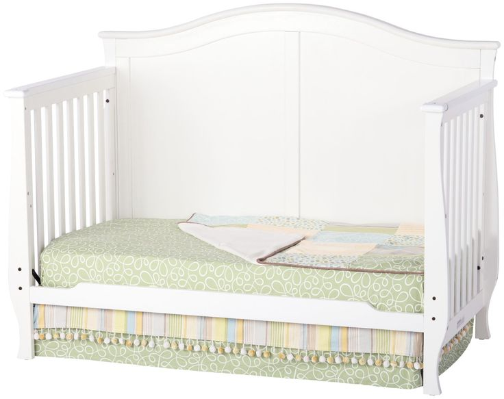 Childcraft Camden 4-in-1 Convertible Crib - Matte White