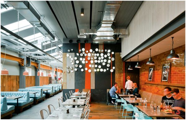 how to design bars and restaurants to enhance the customer experience