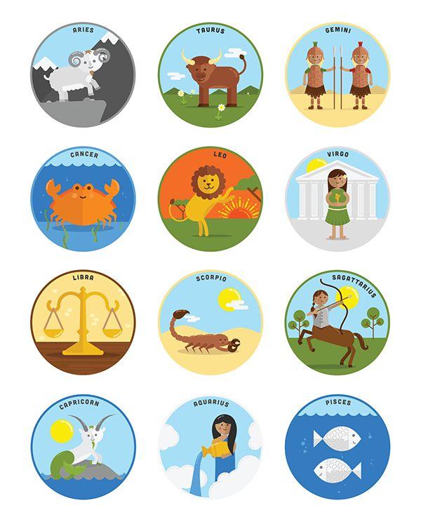 Cute horoscope signs