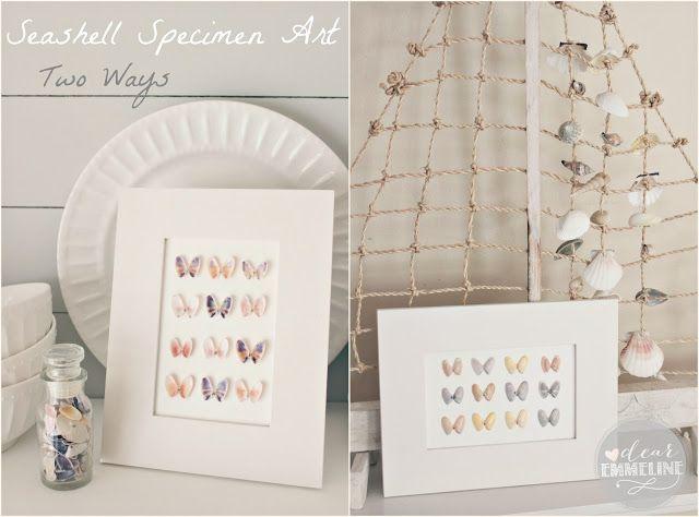 Dear Emmeline: Vacation Memories: Seashell Specimen Art (HoH161)
