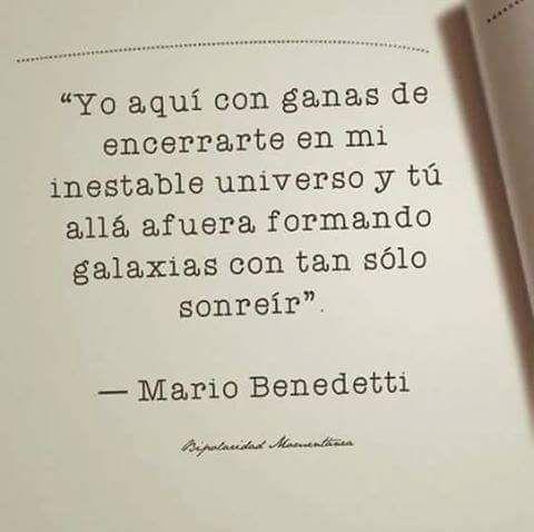 Mario Benedetti. #amor