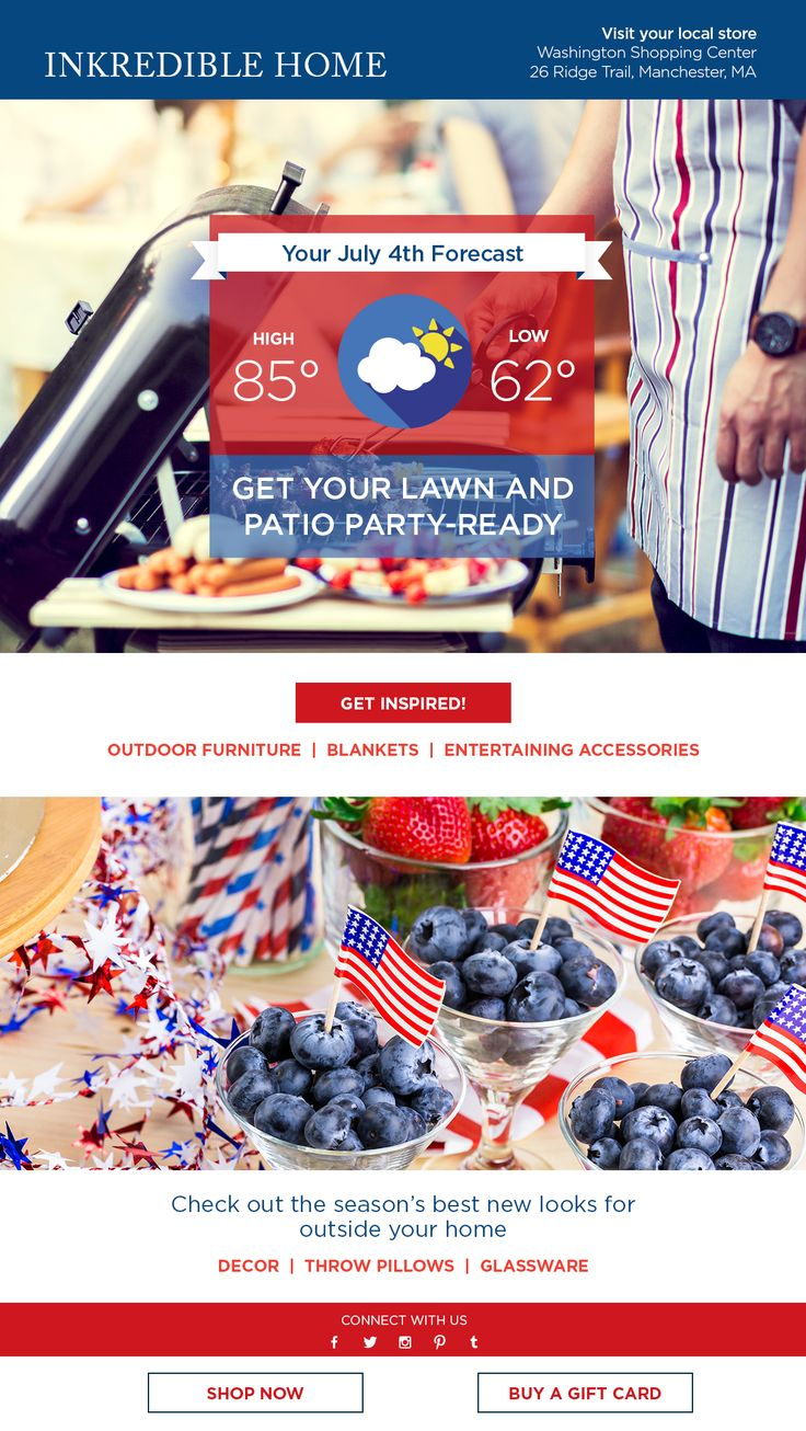 Make your emails rock this 4th of July! Here are 4 of our favorite campaign ideas: http://bit.ly/1P2avtQ
