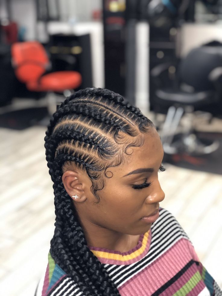 History Of Cornrows Feed In Braids Hairstyles Cornrow Hairstyles Feed In Braid
