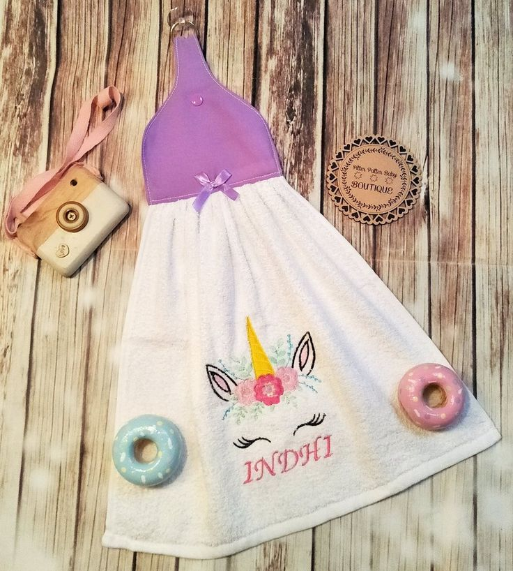 Unicorn Bath Towel, Suction Shower/ Bath Eye Wipe Towel, Unicorn Towel