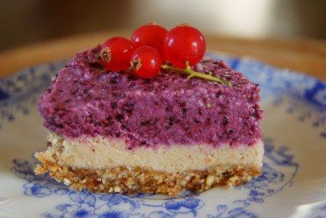 Glutenvrije en Rauwe Fruit Taart