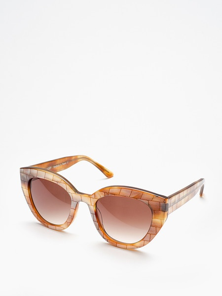 THIERRY LASRY / ADULTERY / METALLIC MOSAIC DESIGN