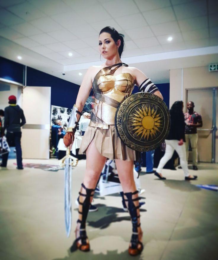 Wonder woman Cosplay.
