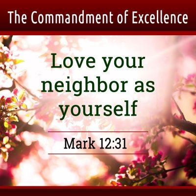 love your neighbor as yourself commandment old testament