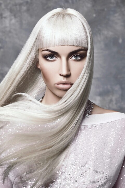 """X-FILES  #Mara Fringe  The """"mara"""" fringe is inspired by the one and only Rooney Mara.  Bring the #fringe up short and allow it to follow the shape of your forehead to create a beauitful half moon shape.  Cut strong this #fringe is adaptable and can be made to suit all hair textures."""