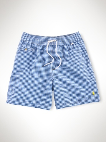 polo ralph lauren traveler gingham swim short   consumerisms (wearables  masculins) a191f7eebcd3