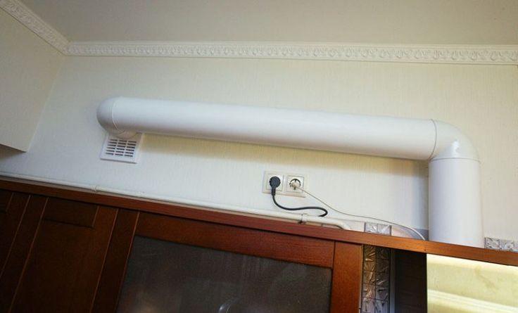 Правильная вентиляция на кухне. Пропало ощущение духоты, у кухни появился свой вентиляционный канал. В несколько раз снизился шум от вытяжки (из-за увеличения диаметра воздуховода до 125 мм)