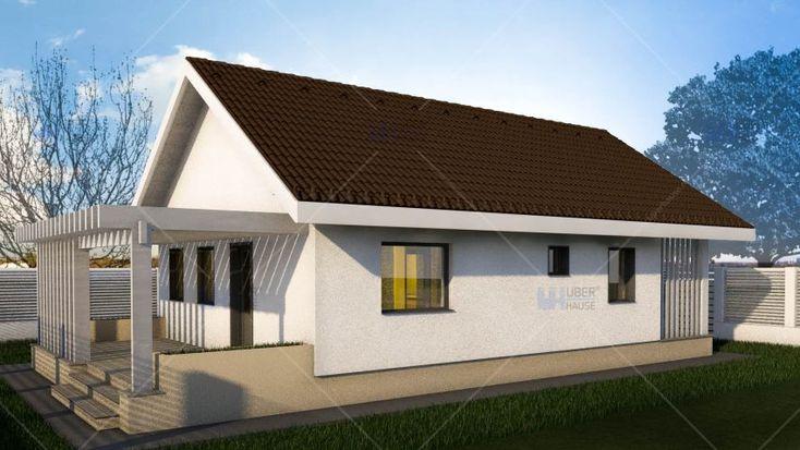 Proiecte de case de 60-70 mp - ideala pentru un cuplu tanar