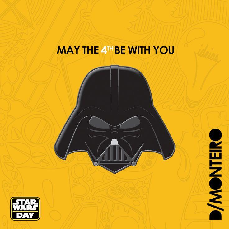 Para os apaixonados...como a gente! #StarWars #StarWarsDay #MayTheForceBeWithYou