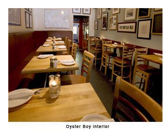 Oyster Boy is turning into our casual date night hot spot