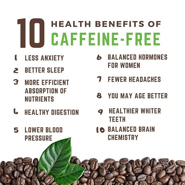 Caffeine Free I Am Absolutely Addicted To Caffeine And I Am Sure Most Of You Are As Well Someday I W Caffeine Free Healthy Skinny Recipes Workout Food