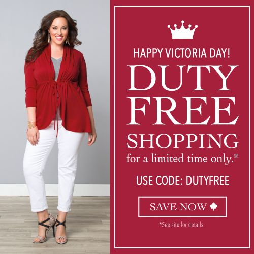 #Victoriaday  HappyVictoria day  http://www.planetgoldilocks.com/canadiancoupons.htm  See great plussize fashions sale coupon #freeduty  #canadianshopping #canadianplussizefashionssales  #plussizeclothinng