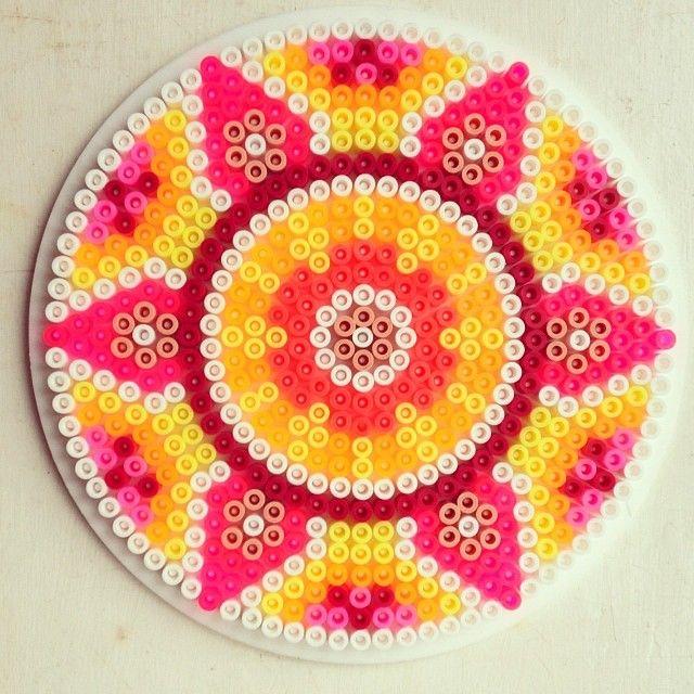 Mandala #hama