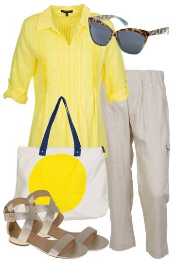 Lemon And Lace Outfit includes Ping Pong, Milk & Sugar, and Marco Polo at Birdsnest Fashion