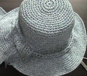 Yazlık Penye Şapka Örgü Yapımı - http://m-visible.com/yazlik-penye-sapka-orgu-yapimi.html