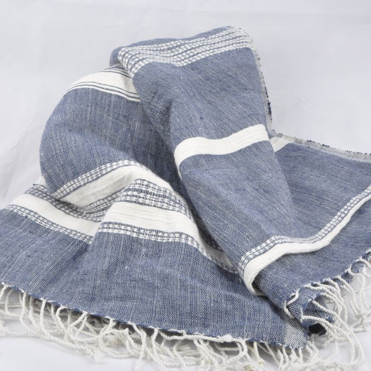 Ethically Made Cotton Throw by Once was Lost. Summer is here!