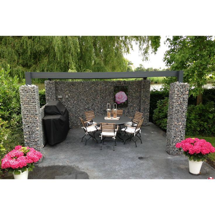 39 besten gabionen gartengestaltung bilder auf pinterest gabionen gabionenwand und landschaftsbau. Black Bedroom Furniture Sets. Home Design Ideas