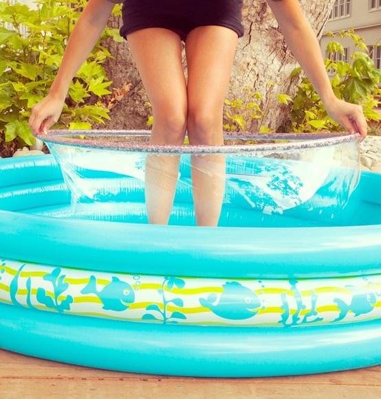 Life-sized bubbles!  #SummerUp