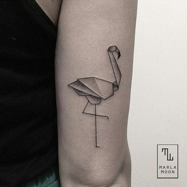 tattoo_guide #flamingo #tattoo