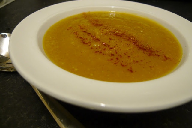 Creamy Curried Lentil and Pumpkin/Squash Soup #vegan | Savoury Vegan ...