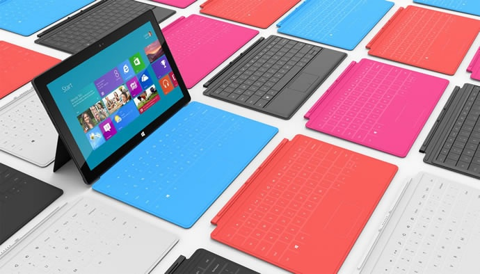 Microsoft Surface Tablet Starting at $499