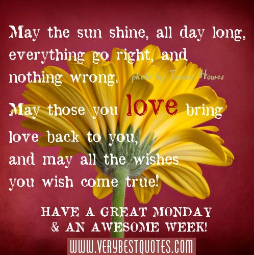 Good Quotes for Monday picture | Good Morning Quotes, Monday Morning Blessing Picture Quotes ...