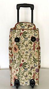 Gobelin große Reisetasche Trolley Blumen Royaltex Signare Tasche Stoff Weekender | eBay