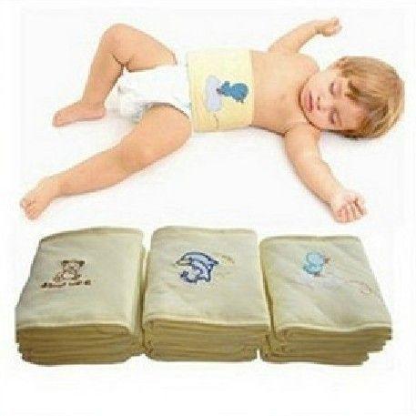Nvshirl One Piece Ребенка пупок полотенце дети пупок ремня пупок одеяло пеленание для ухода за ребенком цвета выбрать размер 62*16 см uhu036