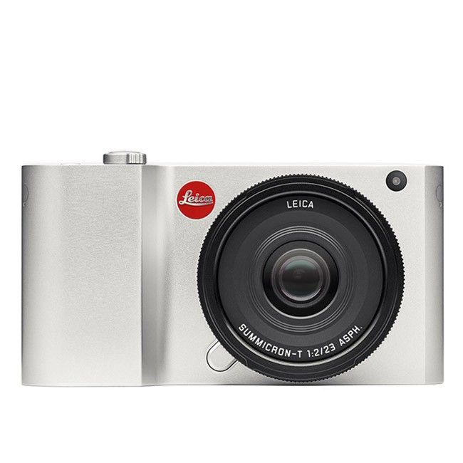 Leica T -mirorless. Possibly the most beautiful camera ever made. It's hand crafted from a block of aluminium in Germany and polished for 45 minutes each.