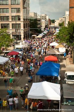 If you're ever in town during a CR downtown farmer's market, stop by! So many Iowan vendors, fresh produce, crafts, and tons more! <3 it!!
