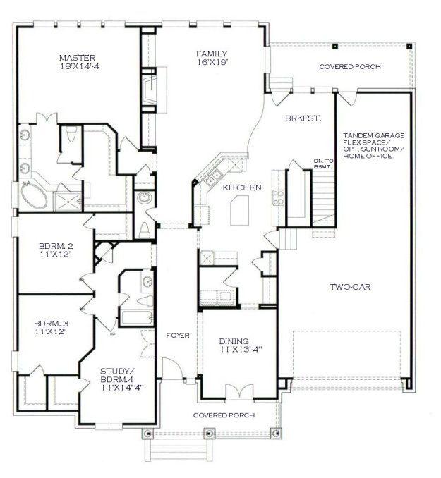 94 Best House Plans Images On Pinterest Floor Plans