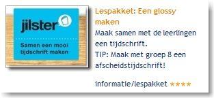 Lespakket: Een glossy maken: maak samen met de leerlingen een tijdschrift. TIP: Maak met groep 8 een afscheidstijdschrift!